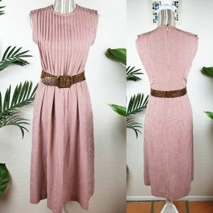 Vintage Harolds Praire Gingham Fit and Flare Dress